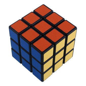 Magic ABS Ultra-smooth Speed Cube Rubik's Puzzle Twist Creative Gift Children - 2