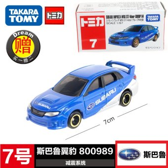 Harga Tomy alloy car models toy 7 SUBARU wrx sti subaru impreza car no. 800989