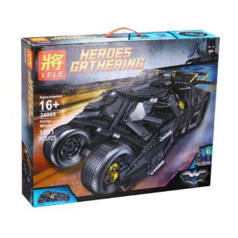 Harga LELE 34005 Heroes Gathering: Batman the Tumbler