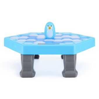 Harga LT365 Ice Breaking Save The Penguin Children Kids Interactive Toy Great Family Fun Desk Game - Blue - intl