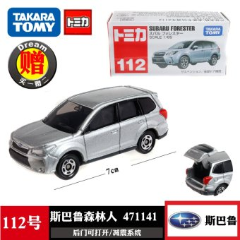 Harga Tomy TOMICA alloy car model 112 No. Subaru Forester 471141 toys
