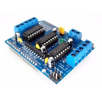 Harga L293D Motor Drive Shield Expansion Board For Arduino Duemilanove Mega UNO - intl