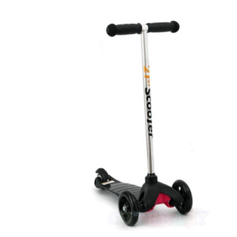 Harga CMAX Mini Kids Scooter with Flashing LED Wheels (Black)