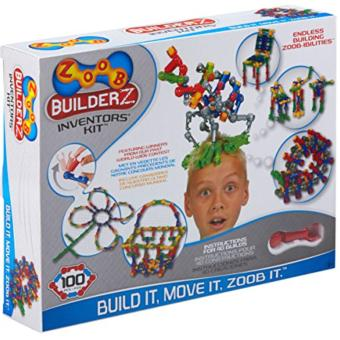 Harga ZOOB BuilderZ Inventor's Kit Interlocking Construction Bricks Set