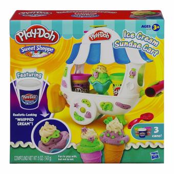 Harga Play-Doh Sweet Shoppe Ice Cream Sundae Cart Playset