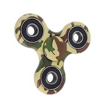 Harga Fidget Spinner Triangle Single Finger Decompression Gyro Multicolor - intl