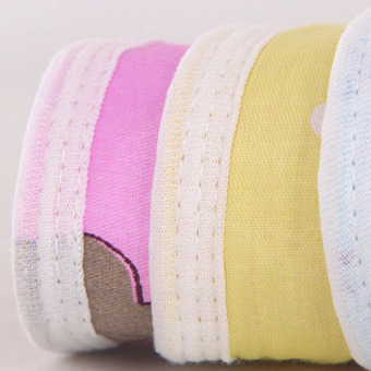 Baby Changing Pad Cotton Printed Cover Toddlers Waterproof Urine Mat Pink XL - 2
