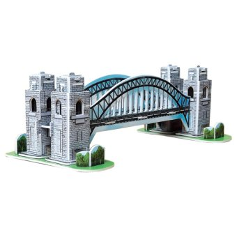 Harga VAKIND Educationa 3D ode Puzze Jigaw mini YDNEY HAPBOUR BRIDGE DIY Toy
