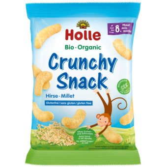 "Harga Holle Organic Crunchy Snack Millet 25g (From 8 months onwards) - ""NEW"""