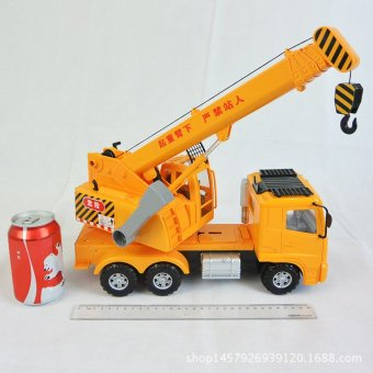 Harga Lee engineering car large inertia car large cranes crane boy child truck toy mold