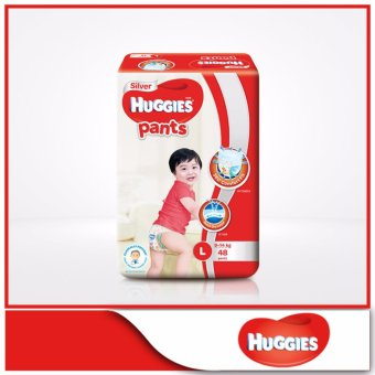 Harga Huggies Silver Pants L 48pcs