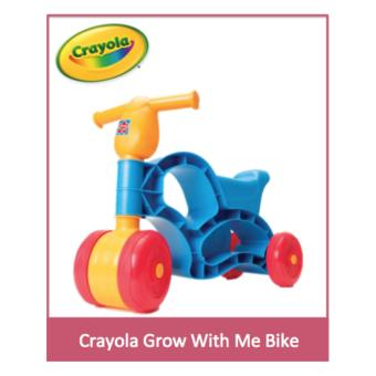 Harga Crayola Grow With Me Bike