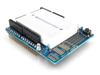 Harga UNO Proto Shield prototype expansion board with SYB-170 mini breadboard based For ARDUINO UNO ProtoShield - intl