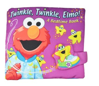 Hundred American Softplay Sesame Street Elmo Learn Dimensional Cloth Book Goodnight Educational Toys