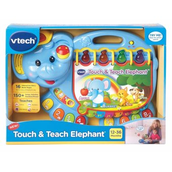 Harga VTech Touch and Teach Elephant Book