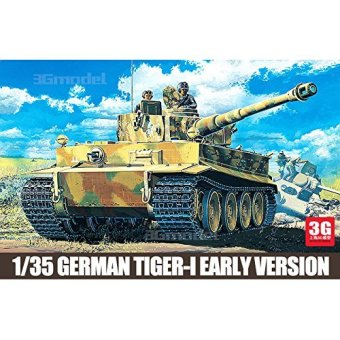 Academy model 13239 World War II/ the United States and Germany in the early-type full configuration Tiger