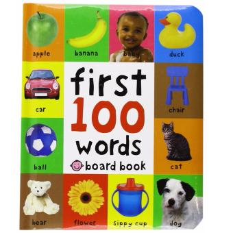 Harga Priddy Books - First 100 Words Board Book