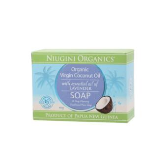 Harga NIUGINI ORGANICS Handcrafted Virgin Coconut Oil Soap for Baby's Good Night Sleep - Lavender