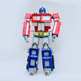 Harga Olivia deformation bumblebee optimus prime robot alloy metal model car toys for children who rm01