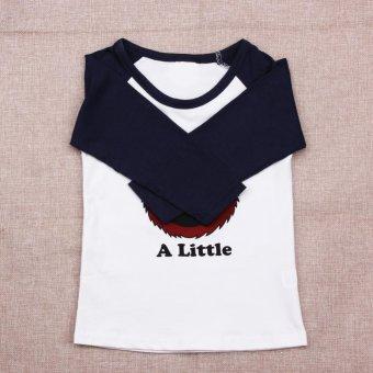 Kids Long Sleeve T-shirt Cartoon Print Tops Clothes - intl - 2