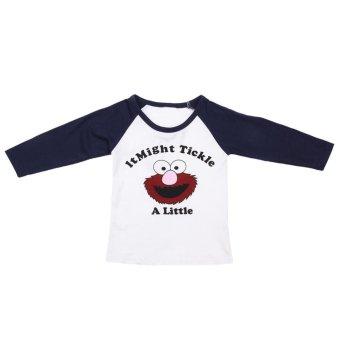 Kids Long Sleeve T-shirt Cartoon Print Tops Clothes - intl - 4