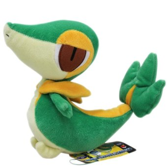 Harga Snivy Snake Pokemon Style Plush Soft Stuffed Animal Gifts Bedding For Kid Child - intl