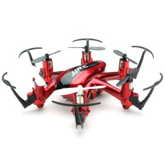 Harga GoSport JJRC H20 2.4G 4 Channel 6-Axis Nano Hexacopter Drone RTF RC Quadcopter (Red)