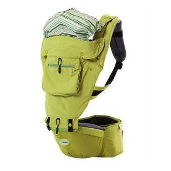 Korea leading brand Jerry Baby FLY-B Multifunction Comfortable Hip Seat Baby Carrier- Green