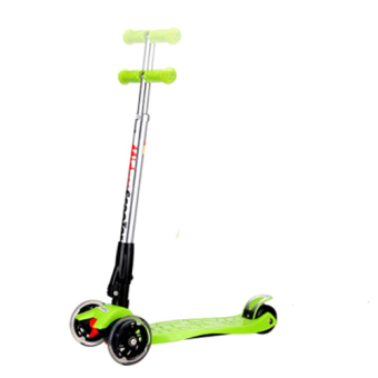 Harga CMAX Foldable Kids Scooter with Flashing LED Wheels (Green)