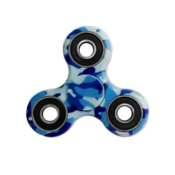 Harga Camouflage EDC toy Fidget Hand Spinner Toy Stress Reducer EDC Focus Toy Multicolor - intl