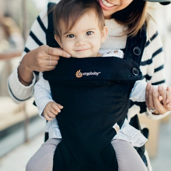 Harga Ergobaby Four Position 360 Carrier - Pure Black