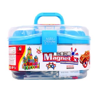 Harga Magnetix Build up Toy 418 Pieces / Magnetic toy / Magnetix / Magnefun