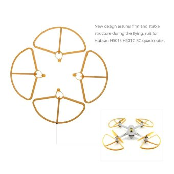 For Hubsan H501S H501C X4 RC Upgraded Propeller Protector Protection Cover - intl - 2