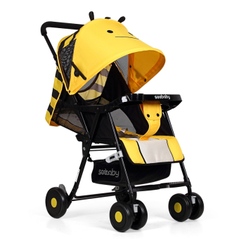 Harga Seebaby QQ3 Lightweight Stroller (Yellow Little Bee)
