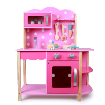 Harga Wooden simulation kitchen set toys tableware children's cooking over every family toy 2-year-old baby toys female