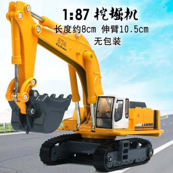 Harga Kaidi wei [the whole alloy excavator/excavator] sturdy shatterproof alloy car engineering car toy