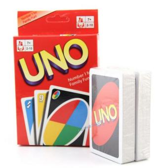 Harga 2 Sets Sunking Standard Uno Fun Cards Game - intl