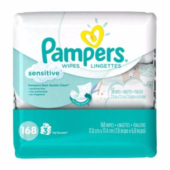 Harga Pampers Sensitive Wipes