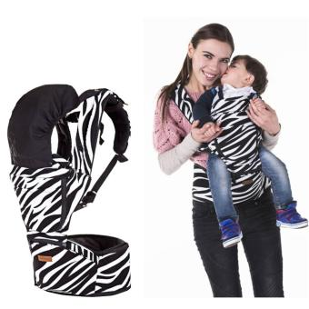 Korea Jerry Baby Hip Seat Baby Carrier-Zebra