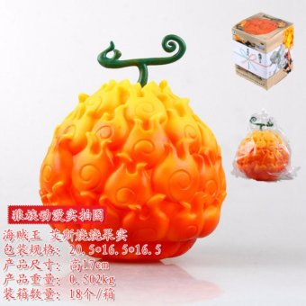 Harga The Wolf clan anime One piece The devil luffy rubber fruit fruit Ace burn hands do fruit - intl