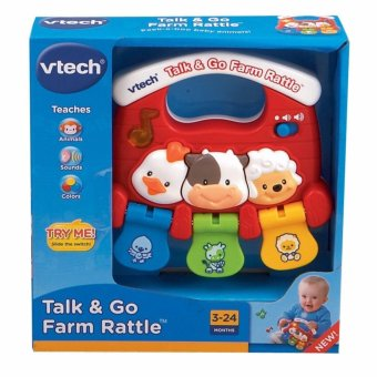 Harga VTech Baby Talk and Go Farm Rattle