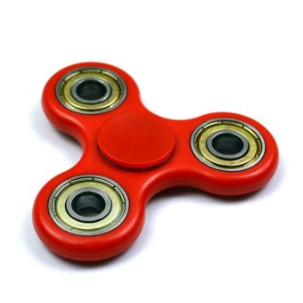 Harga Anti-stress EDC toy Fidget Hand Spinner Toy Stress Reducer EDC Focus Toy Red - intl