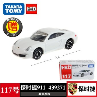Harga Tomy alloy car models 117 porsche 911 sports car 439271 toy car