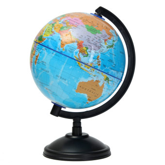 Harga 14cm World Globe Country Region District Map w/ Swivel Stand Geography Education