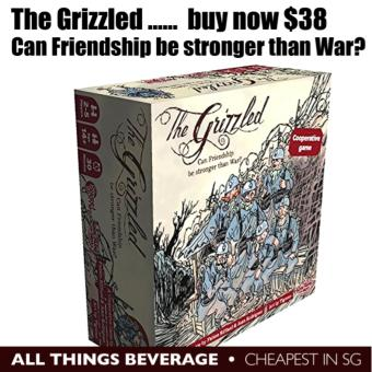 Harga CMON The Grizzled Award Winning Board Game (Cheapest in SG)
