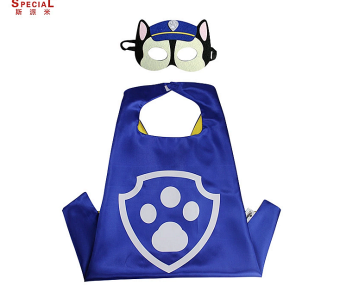 Harga Children's dog patrol team Wang Wangdui Li great service Cos Play mask cloak Cape paw patrol