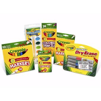 Harga Crayola Back To School Pack, perfect for grades 3 to 5