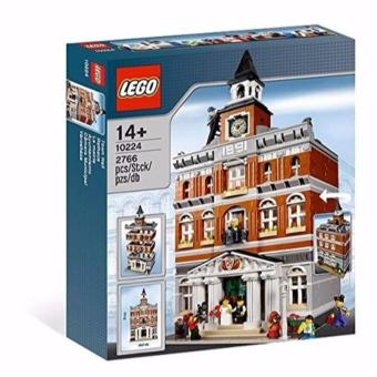 Harga LEGO 10224 Town Hall TAKE NOTE : This item sold is not exchangeable or returnable , all sale is final .