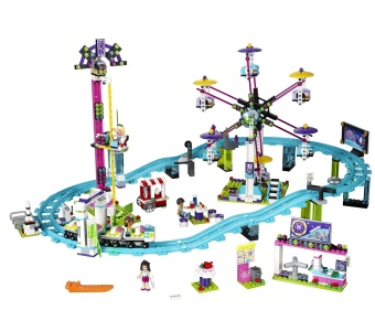 Harga LEGO 41130 Friends Amusement Park Roller Coaster