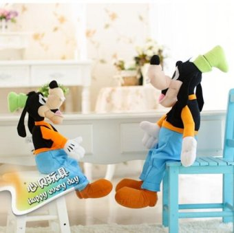 Harga 30CM Plush Toy Stuffed Toy High Quality Goofy Dog Goofy Toy Lovey Cute Doll Gift for Children - intl